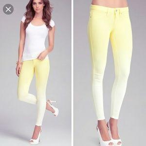 Aurora wash ombre denim skinny jeans